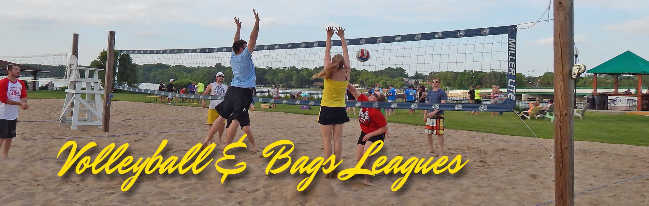 VOlleyball-Bags-The-Rock-Bar-and-Grill-Beloit